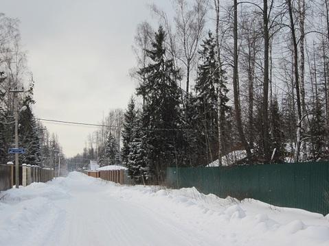 Красивый лесной участок 12 соток, Минское шоссе, Зелёная роща-1 - Фото 1