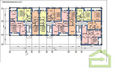 Однокомнатная 43 кв.м. с индивидуальным отоплением - Фото 5