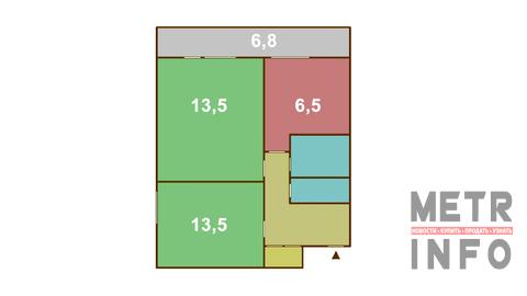 Продажа двухкомнатной квартиры на Веерной улице, 14а - Фото 5