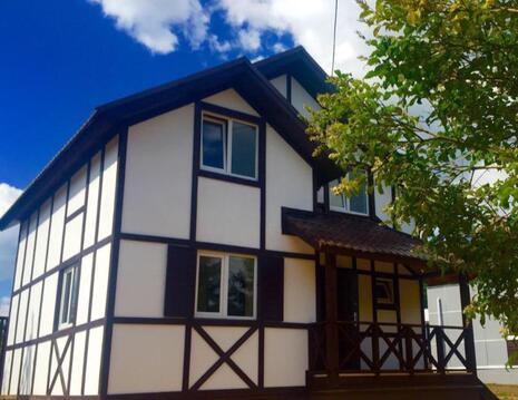 Новый дом в Новой Москве для постоянного проживания. 25 км от МКАД - Фото 1