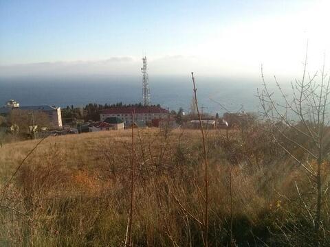 Продам земельный участок 5 соток, г. Ялта, пос. Парковое. Вид на море. - Фото 3