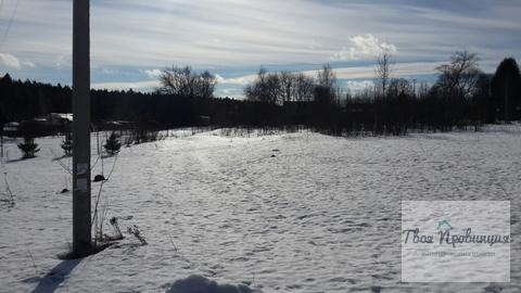 Участок 12 соток рядом с хвойным лесом Протасово Ступинский район - Фото 3