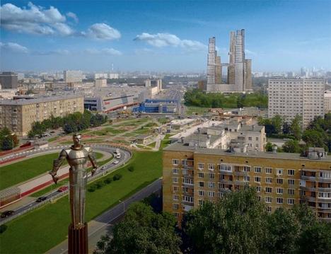 Продается квартира в комплексе жилых небоскребов. - Фото 1