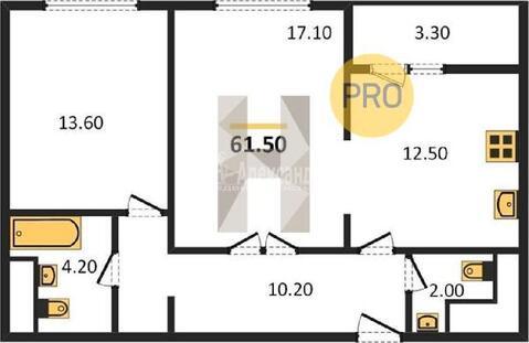 Продажа 2 комнатной квартиры м.Тушинская (Волоколамское ш) - Фото 1