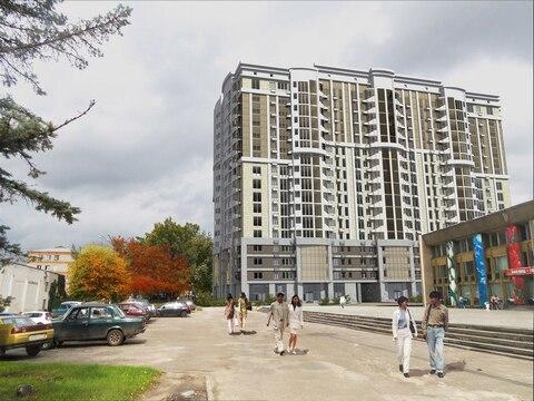 Трехкомнатная квартира, новостройка, центр города, парк - Фото 1