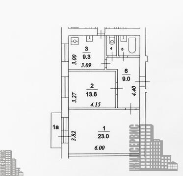 Двухкомнатная квартира в Москве, ЦАО, метро Бауманская - Фото 3