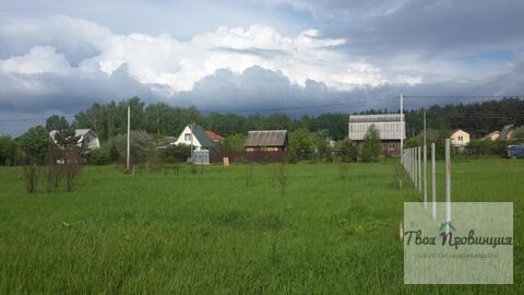 Участок 12 соток под прописку в селе Ивановское Ступинского района - Фото 1