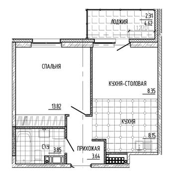 Продажа квартиры, м. Улица Дыбенко, Невский район - Фото 1