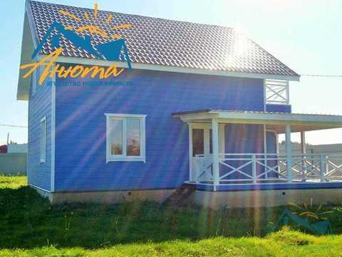Новый дом со всеми коммуникациями в деревне Сатино - Фото 3