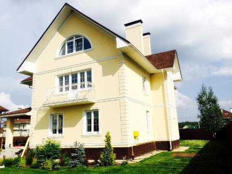 Качественный кирпичный дом под ключ 417 м2 27 км Калужское шоссе - Фото 1