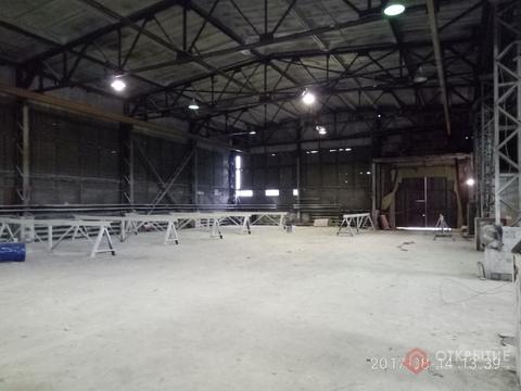 Под склад/производство (1100кв.м, кран-балка, 2 ворот) - Фото 1