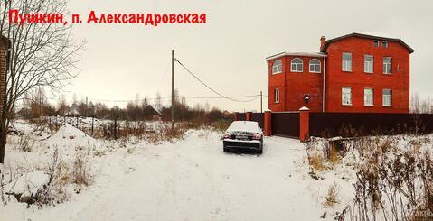 Санкт-Петербург, Пушкинский район, п.Александровская, 12 сот. ИЖС - Фото 2