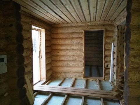 Продается 2-х этажный бревенчатый коттедж (ручная рубка) с баней - Фото 4