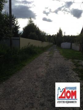 29 соток д. Городище, собс-ть, забор, 30 квт, 300 м от водохранилища - Фото 4