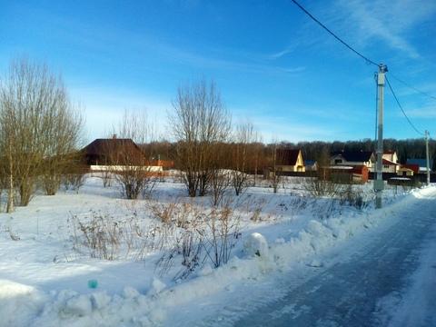 Продается участок 15 соток в с. Вельяминово, Домодедовский р-н, 45 км. - Фото 2