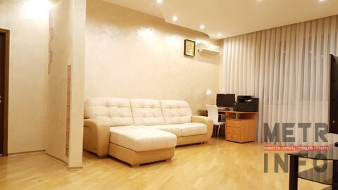 Продажа 2-комн. квартиры 100м2, кухня-гостинная 37м2, М. Юго-Западная - Фото 5