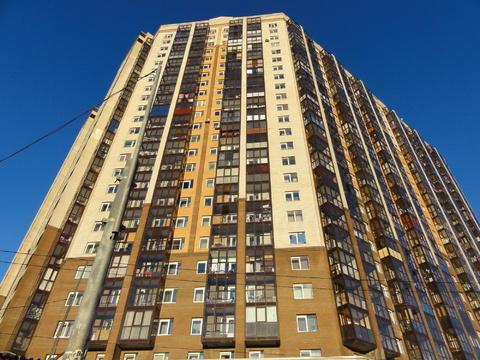 Двухкомнатная видовая квартира в новом доме на Коломяжском проспекте - Фото 1