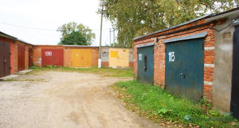 Капитальный кирпичный гараж в городе Волоколамске на ул. Колхозная - Фото 1