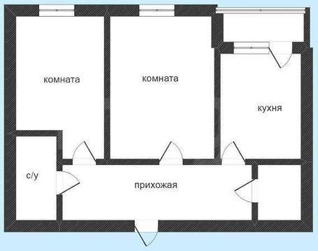 Продам 2-комн. кв. 58 кв.м. Тюмень, Газовиков - Фото 1