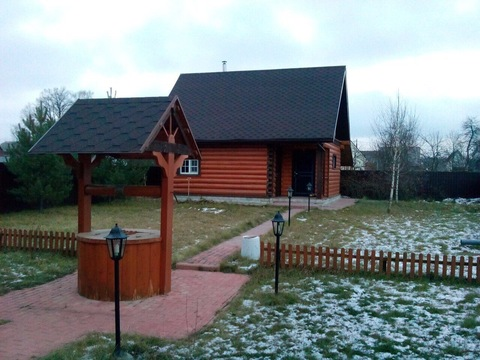 Дом из рубленного бревна под ключ, д. Черная Грязь Калужская область - Фото 5