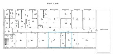 Помещение с офисной отделкой,126,9 кв.м, м.Преображенская площадь - Фото 5