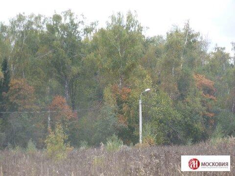 Прилесной участок 15 соток, коммуникации по границе, 30 км от МКАД. - Фото 4