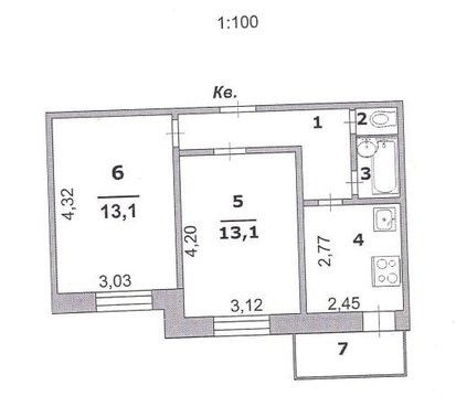 Продажа квартиры, Белгород, Ул. Ватутина - Фото 1