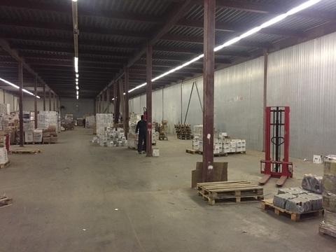 Аренда холодного помещения в пос. Шушары, 324м2, 2эт, лифт на 2т - Фото 1