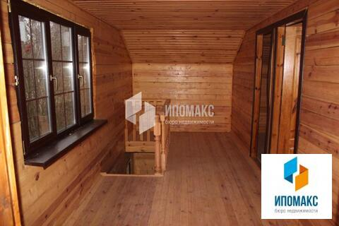 Бревенчатый дом общей площадью 90 м2 - Фото 3