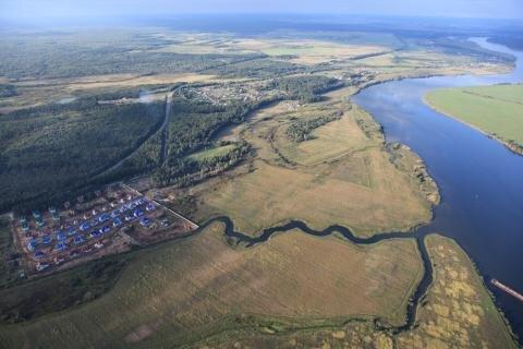 Земельный участок в деревне Крева 7,18 сот.До р.Волга 300м - Фото 2