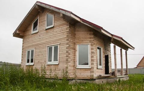 Жилой дом из профилированного бруса под отделку - Фото 1