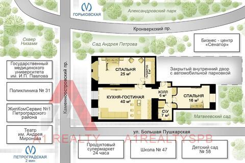 Элитная квартира на Петроградке - Фото 2