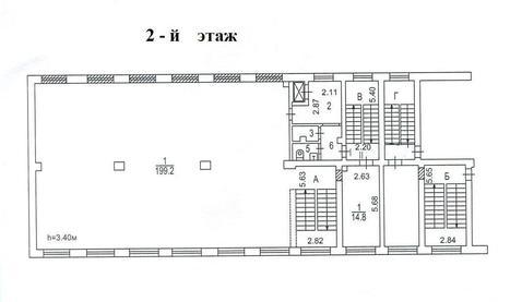 Псн,878 кв.м.-арендный бизнес, м.Коломенская, пр-т Андропова - Фото 4
