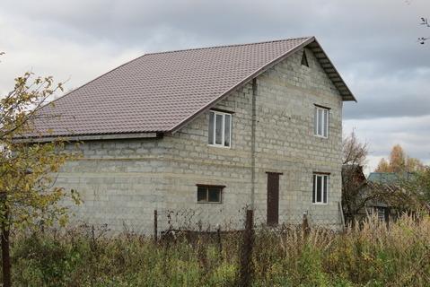 Дом Пеноблок 200 м2, Гараж, Газ, ул. Железнодорожная - Фото 3