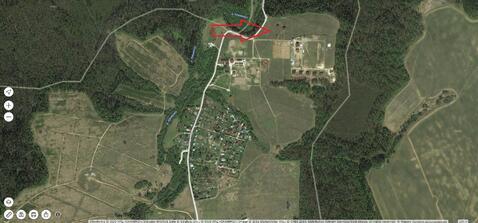 Инино. Земельный участок 1 Га для ИЖС у леса, под имение. Газ, эл-во. - Фото 3