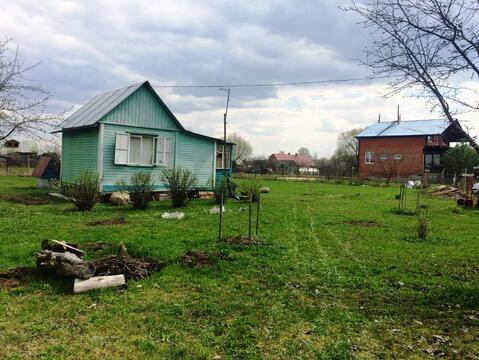 Земельный участок 12 соток с дачным домиком в Домодедовском р-не. - Фото 3