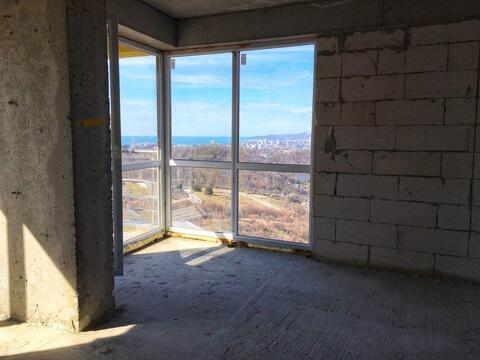 Квартира 42.8 м2 с видом на море в Сочи (Бытха) - Фото 2