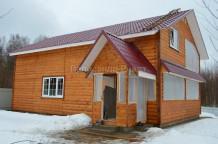 Уютный дом на лесном участке, д.Сатино, 85км от МКАД по Киевскому шосс - Фото 1