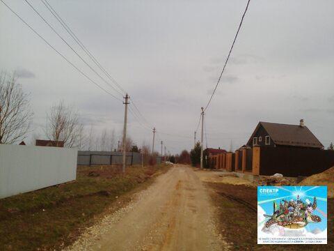 Участок Чехов, Симферопольское шоссе, д. Ваулово, ИЖС, 10 соток. - Фото 4