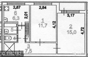 Купить 2 к. Кв. в Сертолово, Купить квартиру в Сертолово по недорогой цене, ID объекта - 321181600 - Фото 1