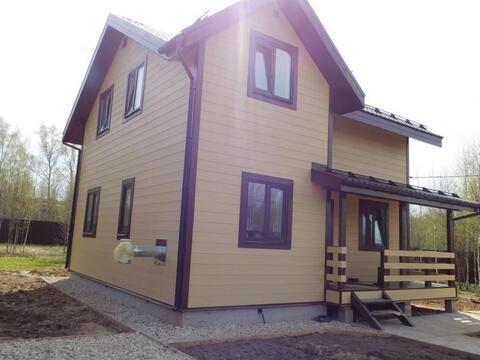 Зимний загородный дом СНТ Сатино д. Сатино 12 соток «под ключ» - Фото 1