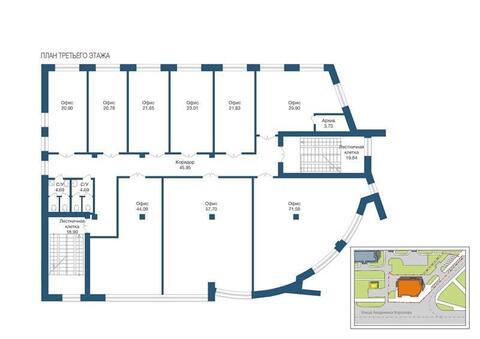 Торгово-офисное помещение от 20 кв.м. Красная линия, в Сипайлово - Фото 3