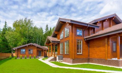 Деревянный дом с дизайнерским ремонтом - Фото 1
