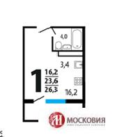 Продам 1-комн квартиру в Ватутинках - Фото 1