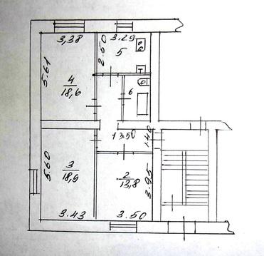 Продаётся большая сталинка с ремонтом, мебелью, кладовкой и гаражом - Фото 1