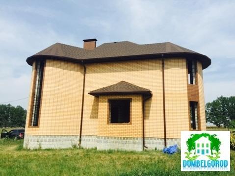 Коробка дома из желтого кирпича Новосадовый - Фото 2