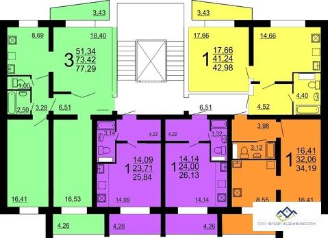 Продам 3-тную квартиру Конструктора Духова 6, 77 кв.м.3эт - Фото 2