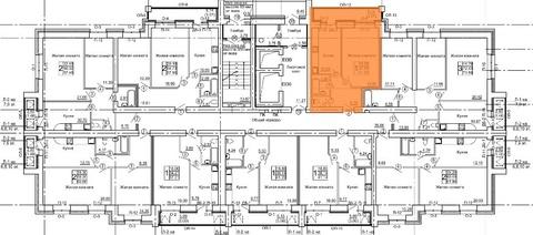Продажа 1-комнатной квартиры, 41 м2, г Киров, Маклина, д. 60а, к. . - Фото 4