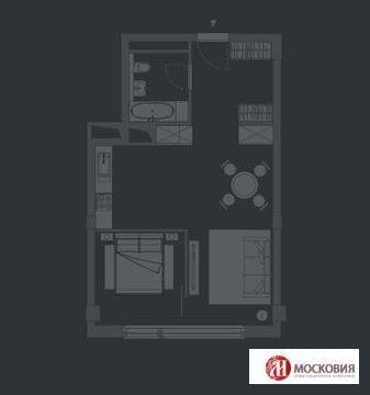 Двухкомнатная квартира с отделкой. Центр. Лофт - Фото 1