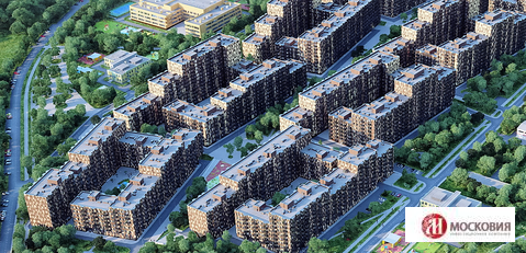 2-комн. квартира 55 м2 с панорамными окнами, Апрелевка, Киевское ш. - Фото 4